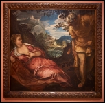 Tintoretto The Meeting of Tamar and Juda ca. 1555-1559