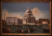 Michele Marieschi The Grand Canal with Santa Maria della Saluteca. 1738-40