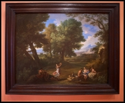 Andrea Locatelli Landscape with Nymphs and Satyrs