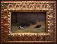 Paul Gauguin In the Henhouse ca. 1878